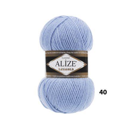 šviesiai mėlyni mezgimo siūlai