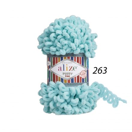 PUFFY FINE_263_Turquoise