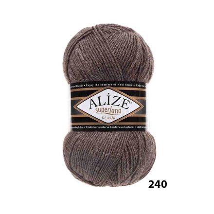 SUPERLANA KLASIK 240 Milky Brown Melange