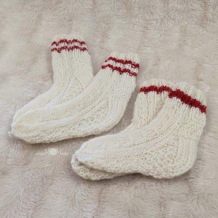 Vilnonės kojinės 18-19 d