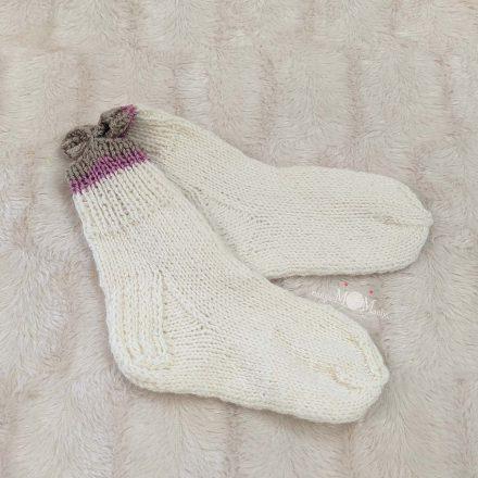 Vilnonės kojinės 24-25 d.