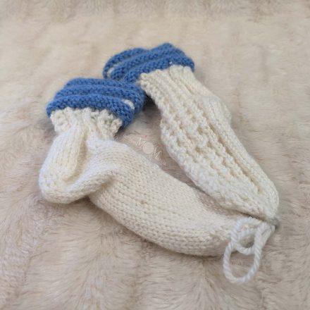 vilnonės vaikiškos kojinės