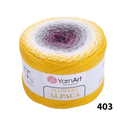 YARNART FLOWERS ALPACA 403