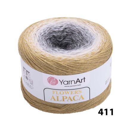 YARNART FLOWERS ALPACA 411
