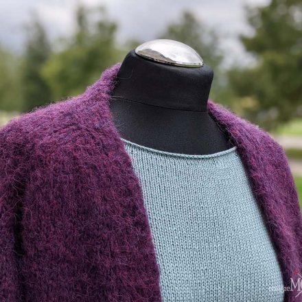 rankų darbo megztinis